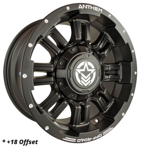 18x9 - A722 Enforcer - $879/set ($630 for Ambassadors)