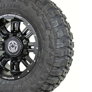 18x9 - A722 Enforcer w/ 35x12.50R18 Federal Couragia (Set of 4)