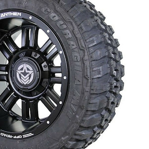 20x12 - A722 Enforcer w/ 33x12.50R20 Federal Couragia (Set of 4)