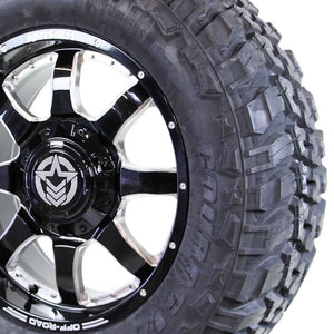 20x9 - A731 Commander w/ 35x12.50R20 Federal Couragia MT (Set of 4)
