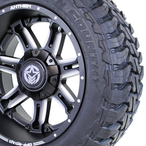 22x12 - A742 Aviator w/ 35x12.50R22 Toyo Open Country MT (Set of 4)