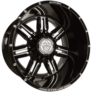 Anthem Wheels 22x14 - A751 Equalizer Side