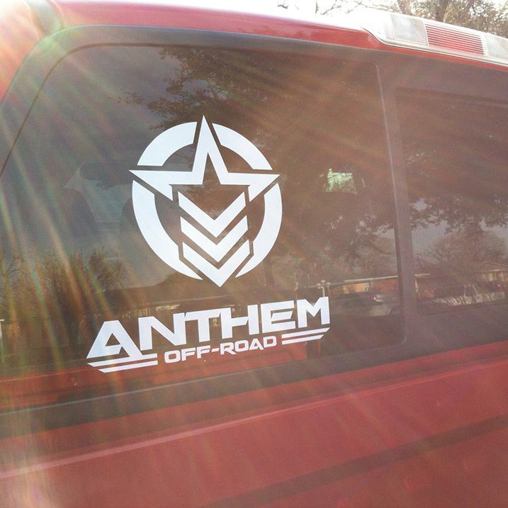 Anthem Vertical Medium Decal