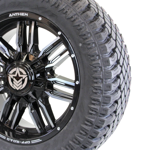 20x9 - A755 Equalizer w/ 33x12.50R20 Atturo Trail Blade XT (Set of 4)