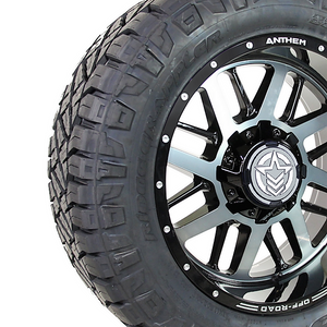 Anthem A765 Gunner 33x12.50R20 Nitto Ridge Grappler Close