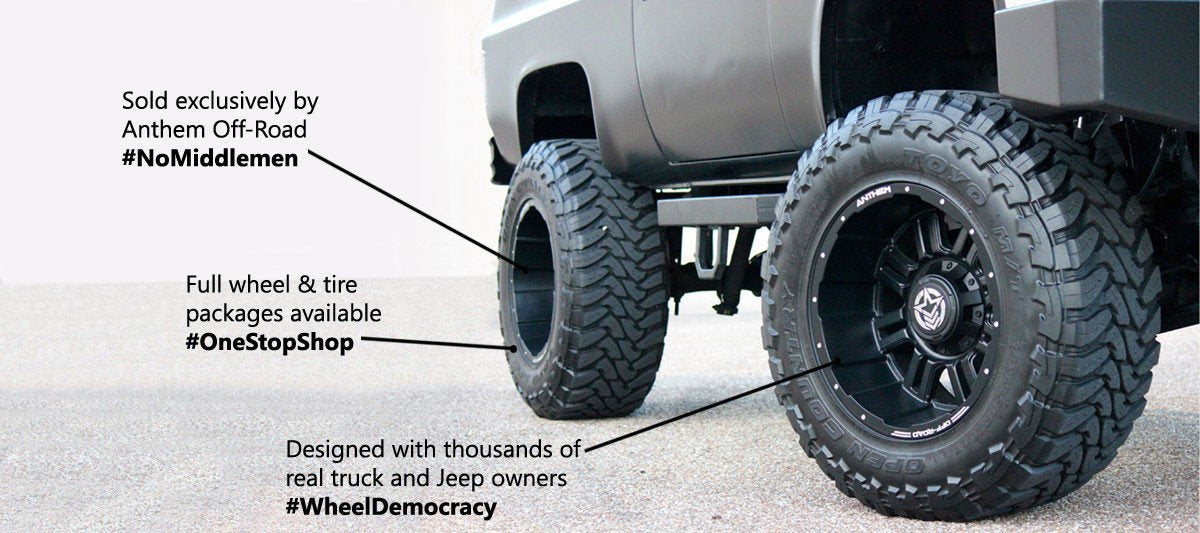 Truck Mud Tires >> Anthem Wheels - Offical Store – Anthem Off-Road Wheels - Official Store