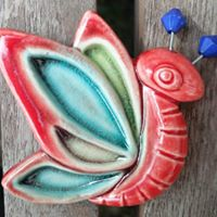 Ceramic Magnet-Butterfly
