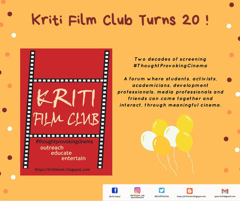 Kriti Film Club @20 Birthday Gift