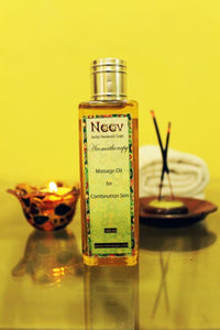 Aromatherapy Massage Oil for Combination