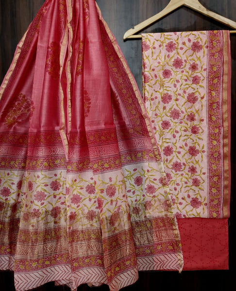 Chanderi Silk Suits (unstitched)