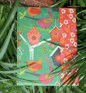 "Recycled Paper Hardbound Diary (6""x9"")"