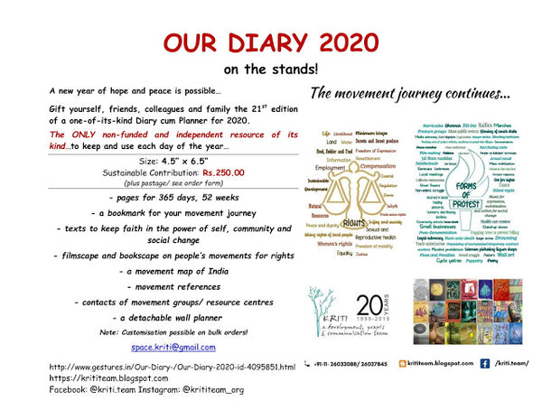 Our Diary 2020