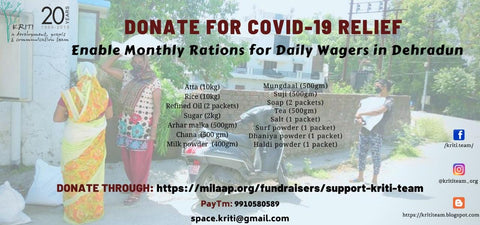 Covid19 Rations for Resource-Poor Women in Dehradun