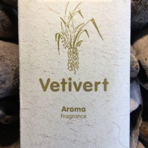 Vetivert Incense Sticks