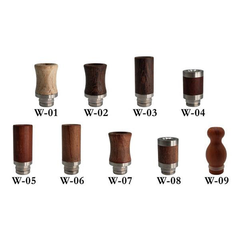 510 Wooden Drip Tips Drip Tips Old Pueblo Vapor