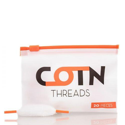 Cotton for Rebuildable Atomizers Cotton Old Pueblo Vapor COTN Threads (20 threads/package)