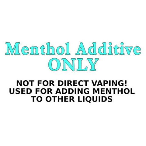 Menthol Additive ONLY E-Liquid Old Pueblo Vapor