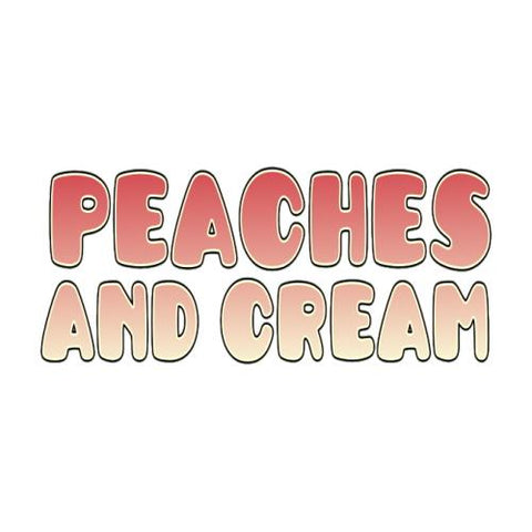 Peaches and Cream E-Liquid Old Pueblo Vapor