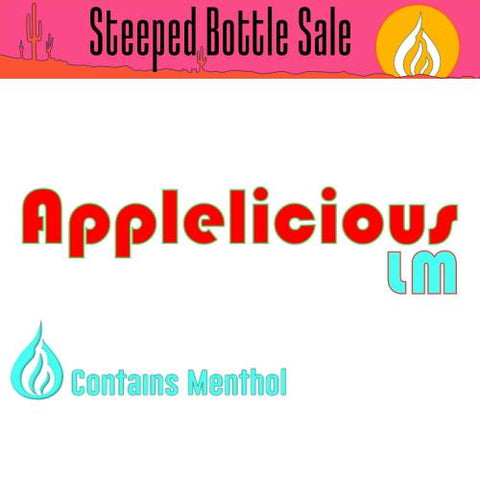Steeped Applelicious LM E-Liquid Steeped OPV