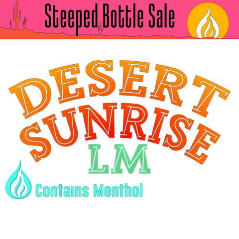 Steeped Desert Sunrise LM E-Liquid Steeped OPV