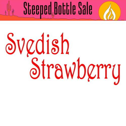 Steeped Svedish Strawberry E-Liquid Steeped OPV