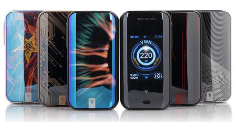 Vaporesso LUXE 220w TC Box Mod-Dual Battery Device-Vaporesso-Black-Old Pueblo Vapor