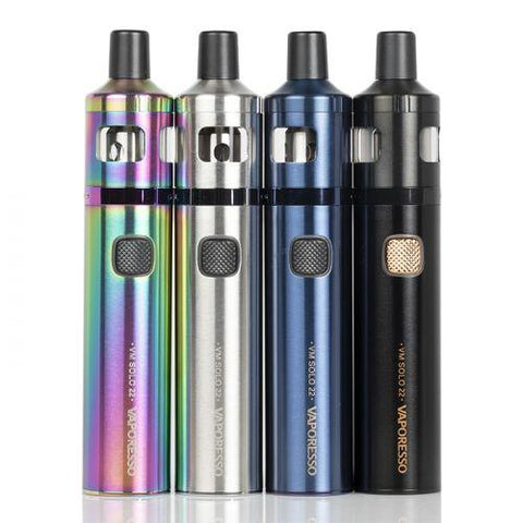 Vaporesso VM SOLO 22 Starter Kit-Internal Battery Device-Vaporesso-Black-Old Pueblo Vapor