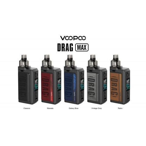 Voopoo Drag Max Pod Mod Kit Single Battery Device Voopoo