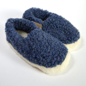 Merino wool slippers