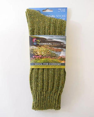 Donegal socks light green