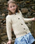 Aran Kids Cardigan natural