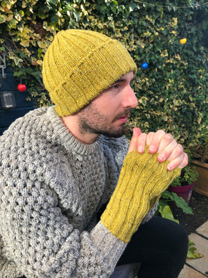 Donegal Beanies Yellow
