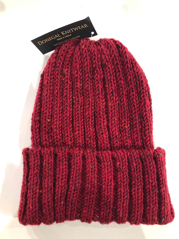 Donegal Beanies Red