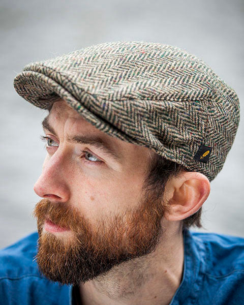 Hatman Brown Flat Cap