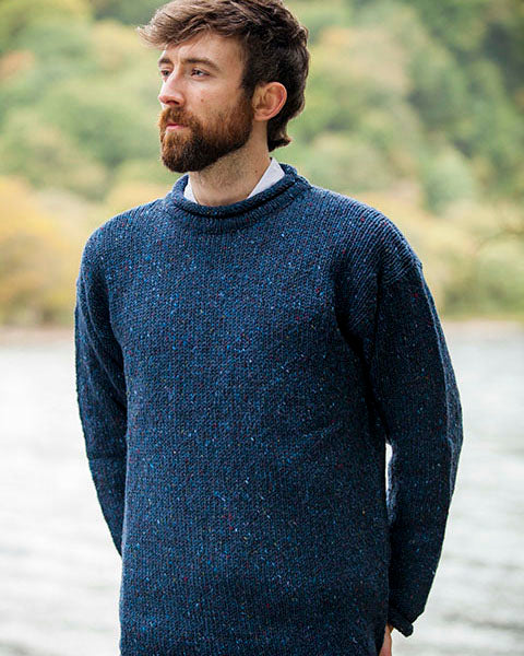 Donegal Hand Loomed Sweater