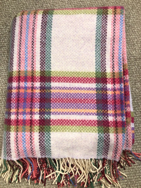 John Hanly Wool Cashmere Throw
