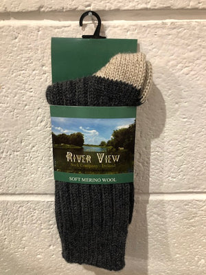 Riverview Merino Socks
