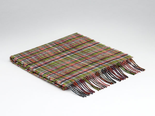 McNutt Lambswool Scarf Fanad Check