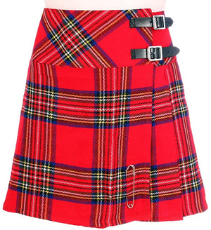 Ladies Wool Mix Kilt Royal Stewart