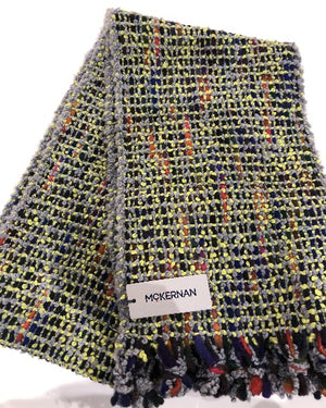 McKernan Bubble Scarf Canary