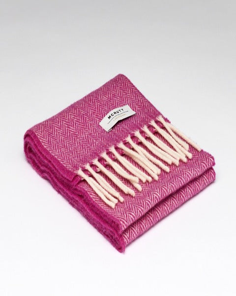 McNutt Child Scarf Pink