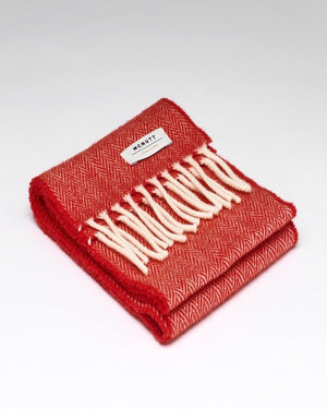 McNutt Child Scarf Red