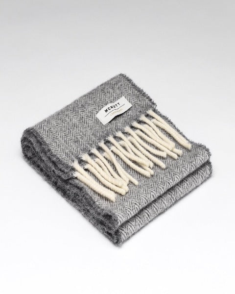 McNutt Child Scarf Uniform Grey