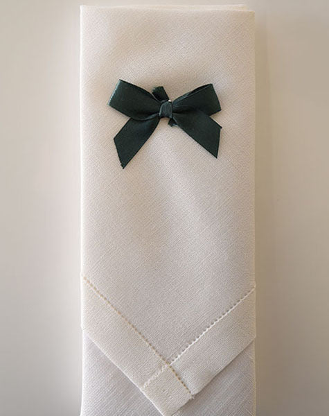 Mens Irish linen handkerchief