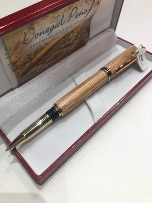 Donegal Pen Roller Ball Gold