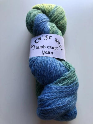 S Twist wool blue mix 100g