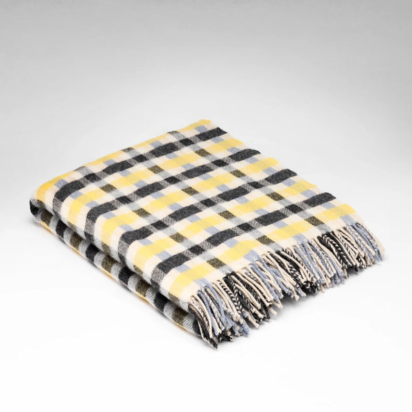 McNutt supersoft wool throw wintersky