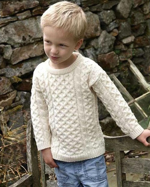 Aran Kids sweater