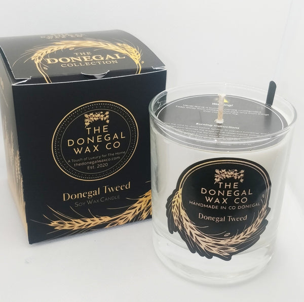 Donegal Wax Luxury Soy Candle Donegal Tweed