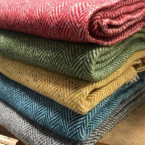 Eddie Doherty Hand Woven Throws